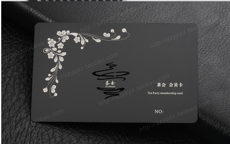 Custom valisere metallic black business cards printing deluxe metal custom valisere metallic black business cards printing deluxe metal business card visit card double sided no3059no3064 in business cards from office colourmoves