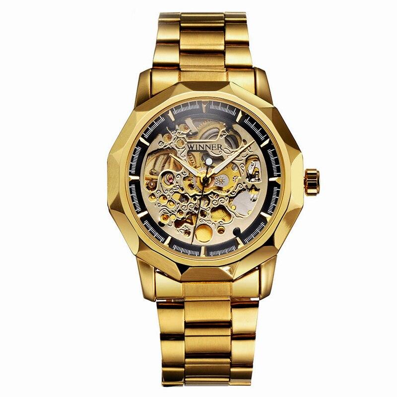 winner skeleton automatic mechanical watch Нины Риччи Роберт