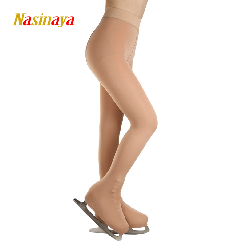 Child Free Size Ice Skating Skateboarding Figure Skating Pants Thermal Long Pantyhose Ice Skate With Shoes Cover Children