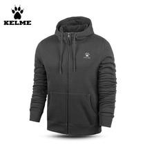 Kelme K15F617 font b Men b font Long Sleeve Knit Hoodies Sports font b Sweater b