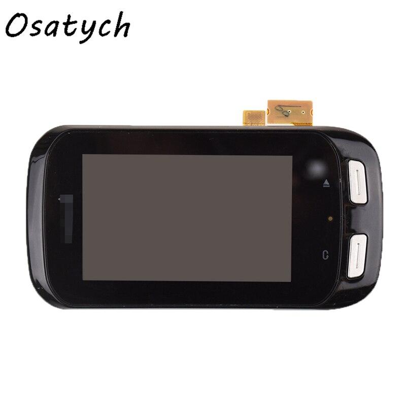 Original 3inch LCD Screen For Garmin GARMIN Edge 1000 Bicycle GPS Code Table LCD Display Touch Screen