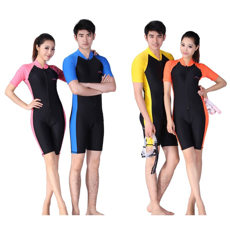 2017 men women wet suits for diving swimming and surfing wetsuit professional diving suit one for Children s swimming pool wetsuit