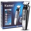 KEMEI 5 в 1 Профессиональный перезаряжаемый триммер для волос Машинка для стрижки волос Бритва Беспроводная Регулируемая машинка для стрижки ...