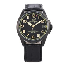 D813.581 Automatic Mechanical Men's Watch Self Winding(Black Dial)