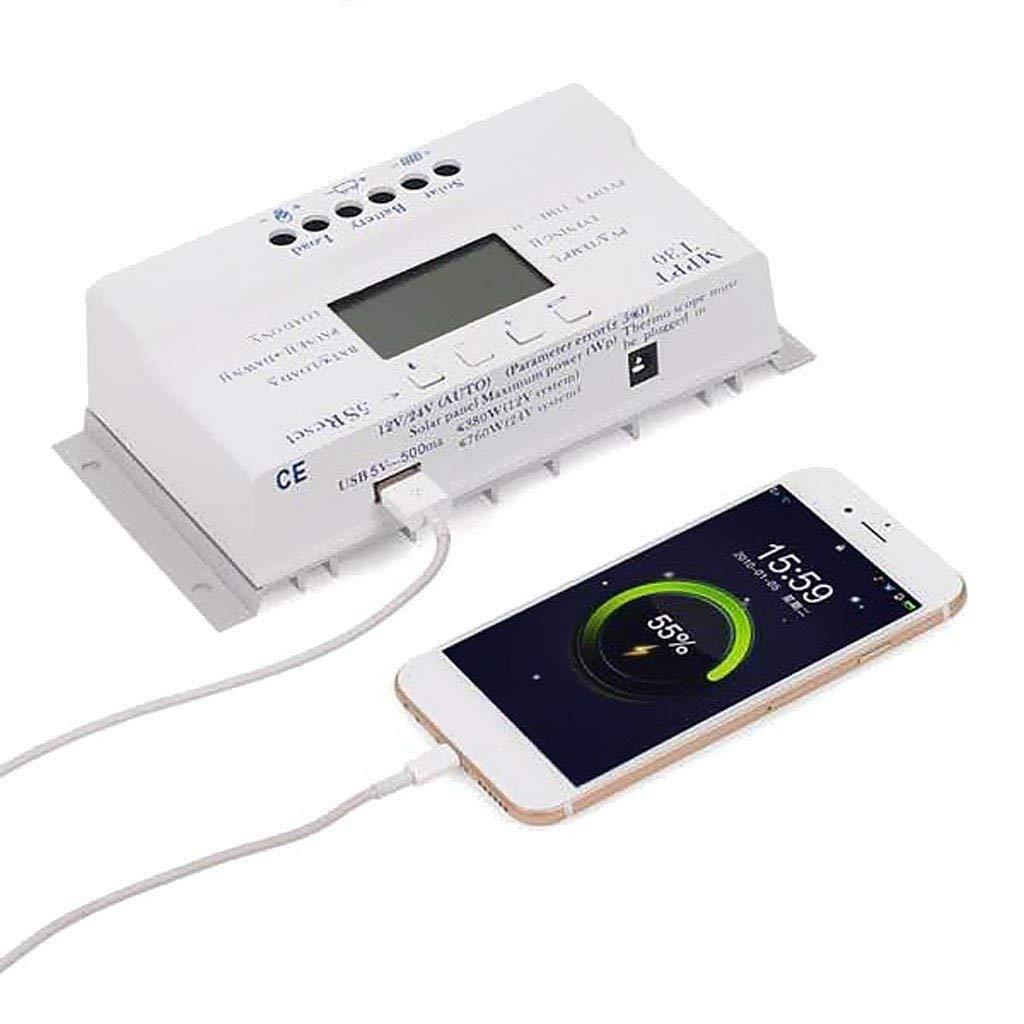 16.5 *9.5 * 6 cm Solar Panel Regulator Charge Controller LCD 3 Timer MPPT40A PWM Controller 12V / 24V Drop Shopping