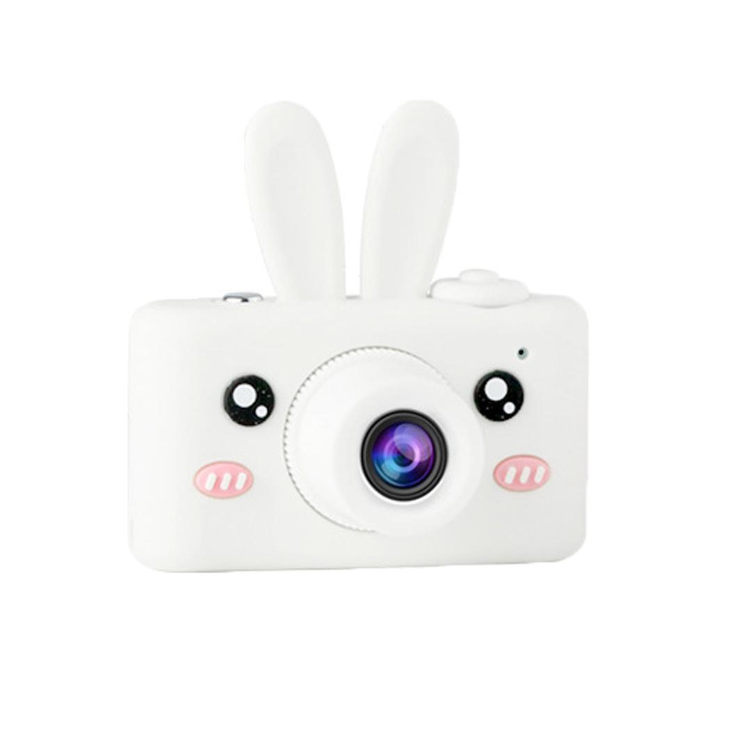 Enfants caméra enfants antichoc écran LCD Mini numérique 610 mAh 75G caméra jusqu'à 32G cadeaux DC support DC.5V1A