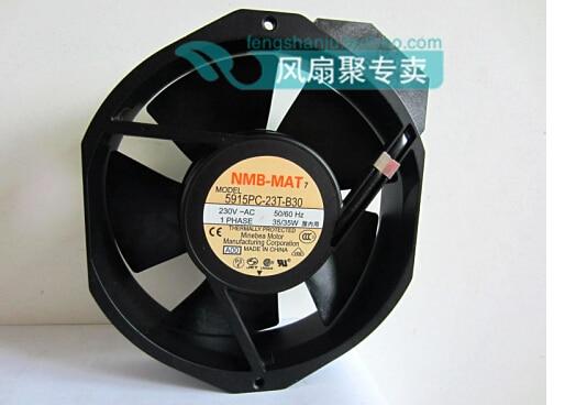 New original NMB 17cm17038 5915PC-23T-B30 230V 35W172*150*38mm aluminum frame AC fan new 17038 double ball 220v ac fan 5915pc 23t b30 35w for nmb mat7 170 170 38mm