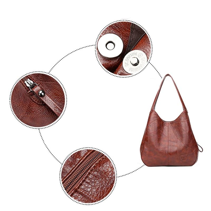 Tecido de Algodão Mulheres Desleixo Hobo Bag Big