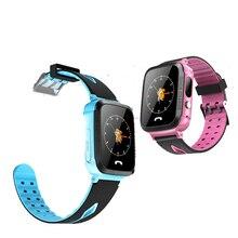 Умный ребенок Сенсор Смарт-часы-телефон gps сим-карта SOS вызова умные часы для Android iOS Сенсорный экран Камера Смарт-часы
