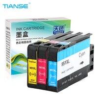 TIANSE 3pcs For HP 950 XL 950XL 951XL HP950XL HP950 Ink Cartridge For HP Officejet Pro