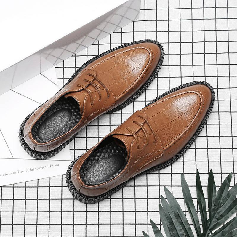 amarelo Sapatos Marca Dos Formal Designer Preto Homens Elegante Clássico Couro Casamento De brown Luxo Msw8118116 E ZrZRzgq
