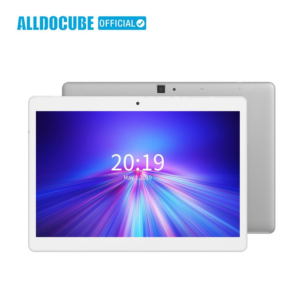 ALLDOCUBE M5X 4G chamada Tablet PC polegada Octa Núcleo 3 10G/4G 4 GB RAM 64 GB ROM 2560*1600 Dual Câmeras Android 8.0 Tablets 10.1 polegada