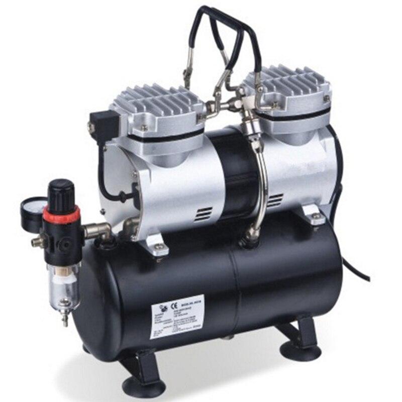50HZ 220V AC 35-40L/MIN 1/4HP Small Electric Piston Vacuum Pump MS196