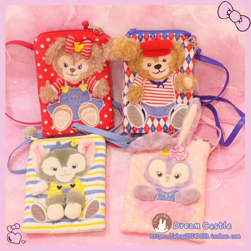 Japan Duffy Bear Bags Shelliemay Stellalou Rabbit Shoulder Bag Children Purse Cartoon Mobile Phone Messenger