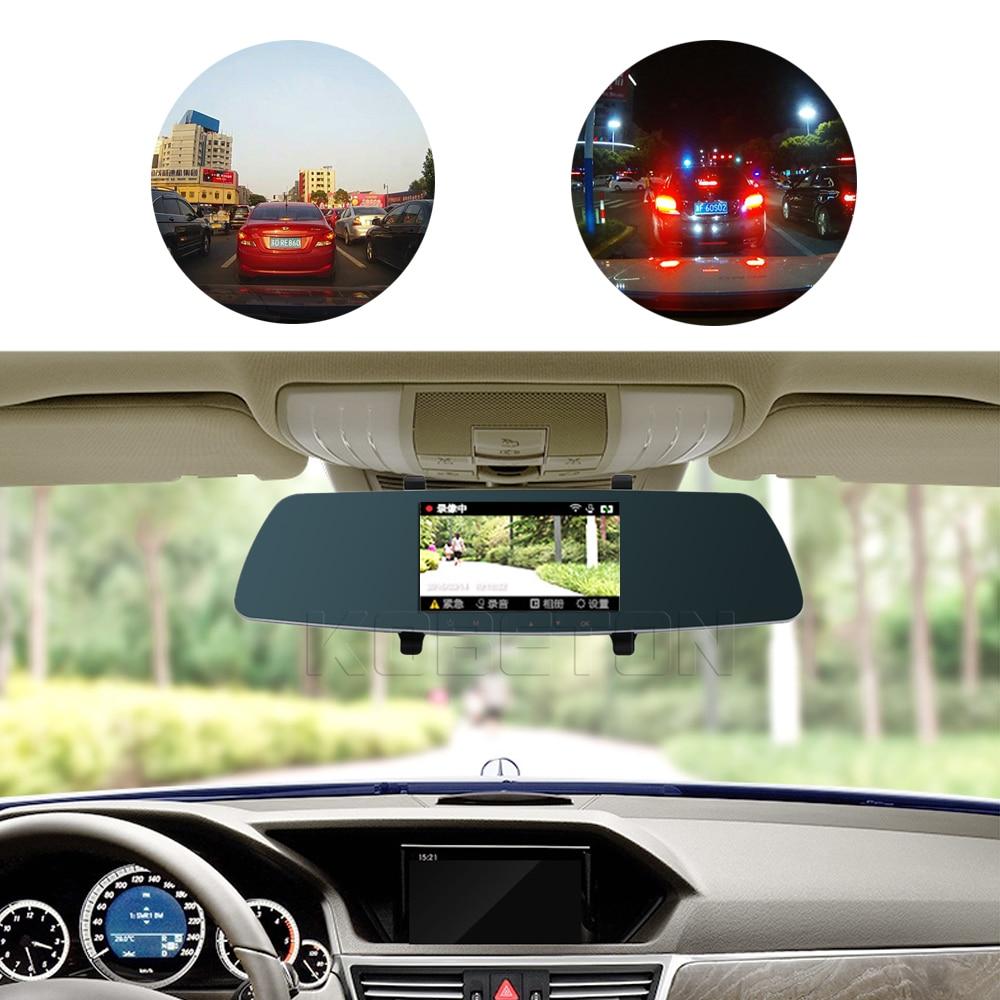 Video-Recorder Car-Rearview-Mirror-Dvr Car-Camera Car-Styling Night-Vision Full-Hd 1080P