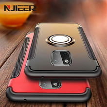 Luxury Armor Car Magnetic Suction Ring Case For Huawei Mate 20 Pro Shockproof Protective Cover Lite