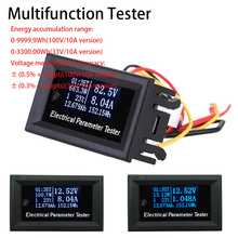 OLED Multifunction Tester 7in1  Voltage Current Time Temperature Capacity voltmeter Ammeter Electrical Meter DC 100v/33v 10A