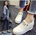 2017 Spring New Women Casual Korean Shoes Increased Waterproof Platform High To Help Muffin With  Fashion  Single Shoes