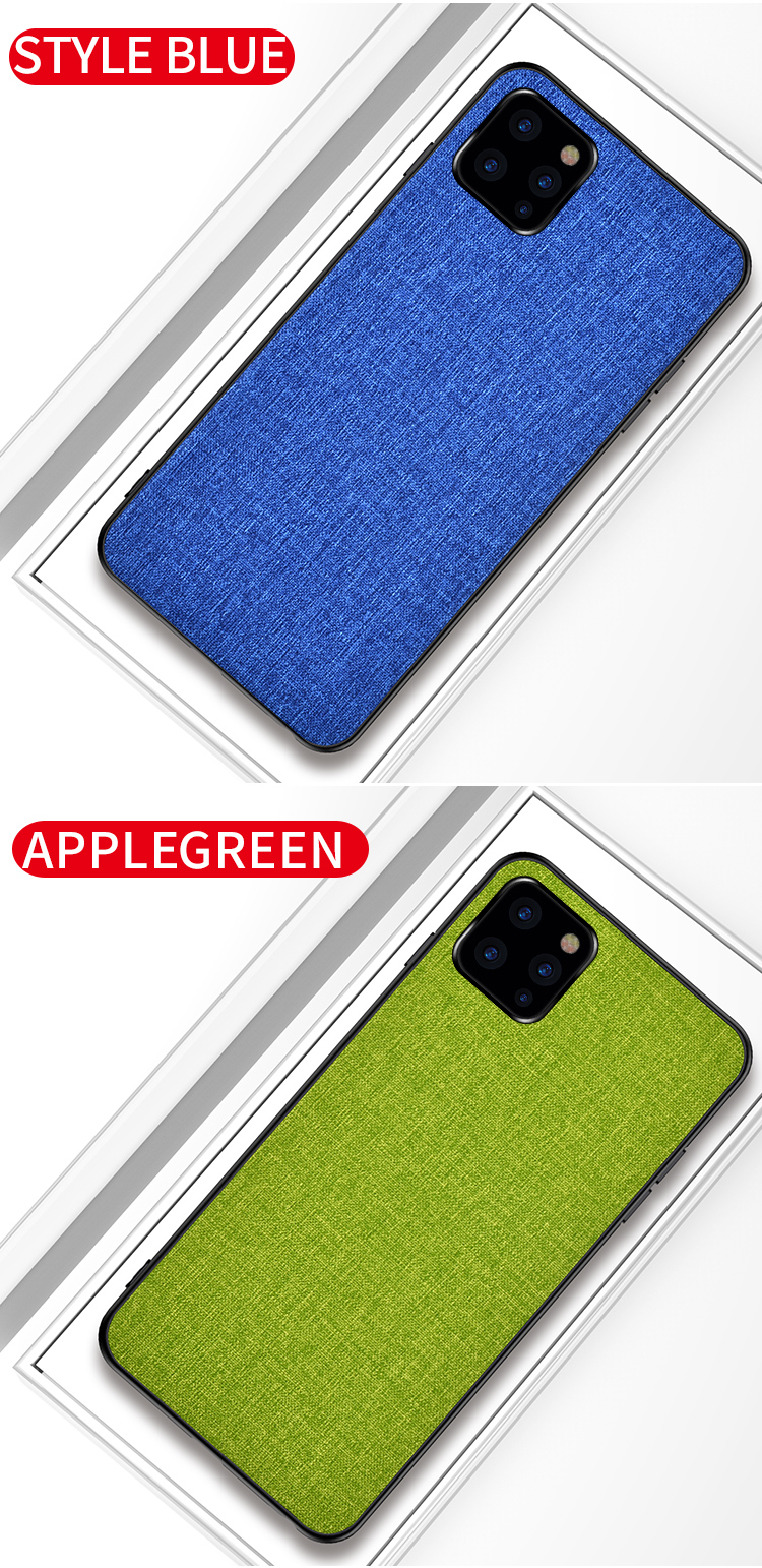 Joliwow Fabric Case for iPhone 11/11 Pro/11 Pro Max 15