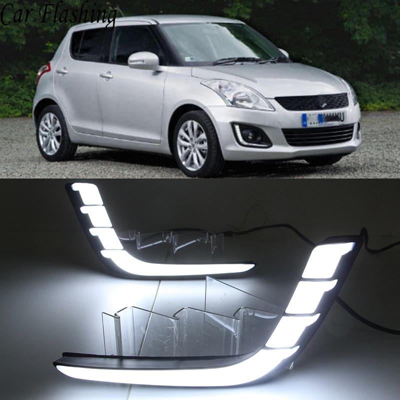 2Pcs For VW Scirocco 2009 2010 2011 2012 2013 2014 Front Bumper LED Fog Lamp Fog