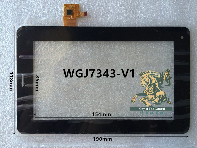 GENCTY For 7 inches WGJ7343-V1 W-B
