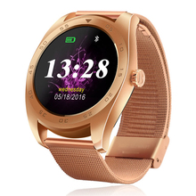 Hiwego K89 font b Smart b font Watch Bluetooth 4 0 Gesture Call Message Reminder Heart