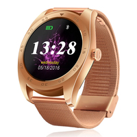 Hiwego K89 Smart Watch Bluetooth 4.0 Gesture Call Message Reminder Heart Rate Monitor Smartwatch For Android IOS Phones MTK2502