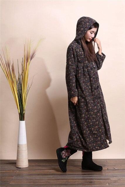 2015 Китайский стиль ветер пальто с капюшоном Ветровка плащи мода пыли пальто случайный Верхней Одежды халат galabia абая