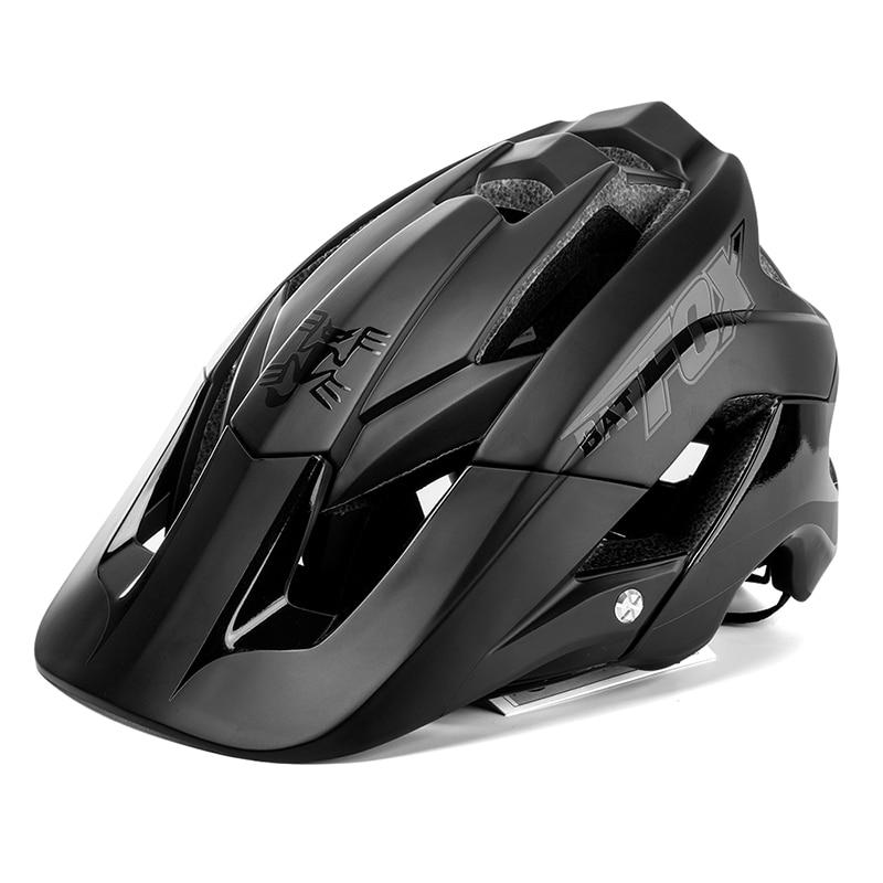 Batfox Сверхлегкий велосипедный шлем, шлем для велоспорта, цельнолитый велосипедный шлем для горного велосипеда, шлем MTB 56-62 см
