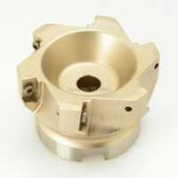 BAP400R 100 32 6T High Quality Indexable Right Angle Face MILL Milling Cutter For AP 1604