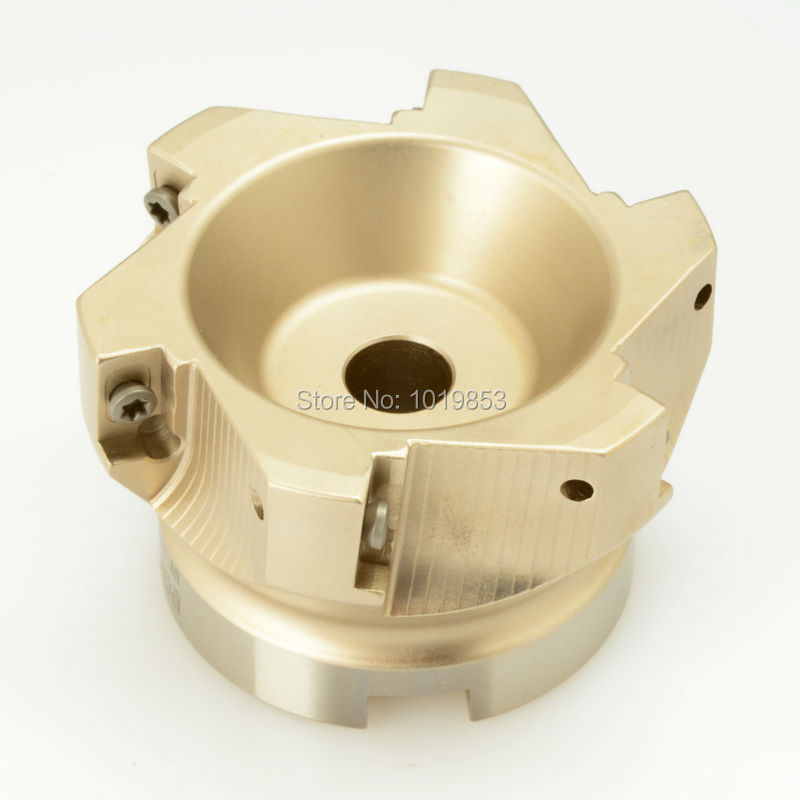 BAP400R-100-32-6T high quality indexable right angle face MILL milling cutter for AP**1604 carbide inserts