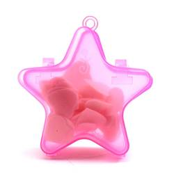 Звезда Компактная ручная стирка Ароматические мыльные хлопья Прачечная мыло простыни ломтик пенясь X