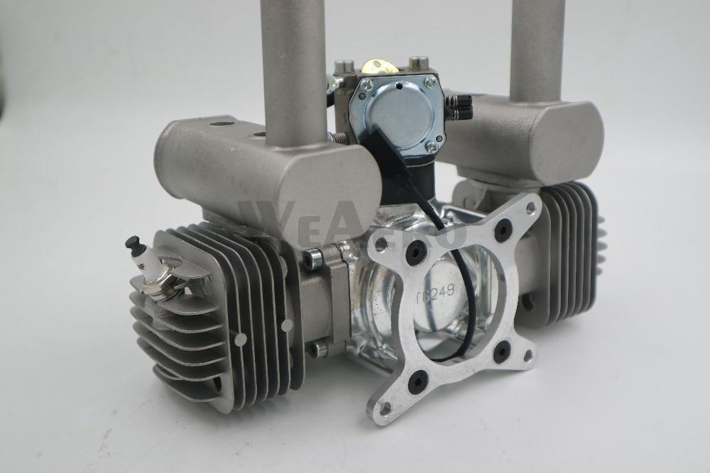 Image 2 - RCGF 60cc двухцилиндровый бензиновый/бензиновый двигатель для радиоуправляемого самолетаengine for rcgasoline engineengine for airplane  АлиЭкспресс