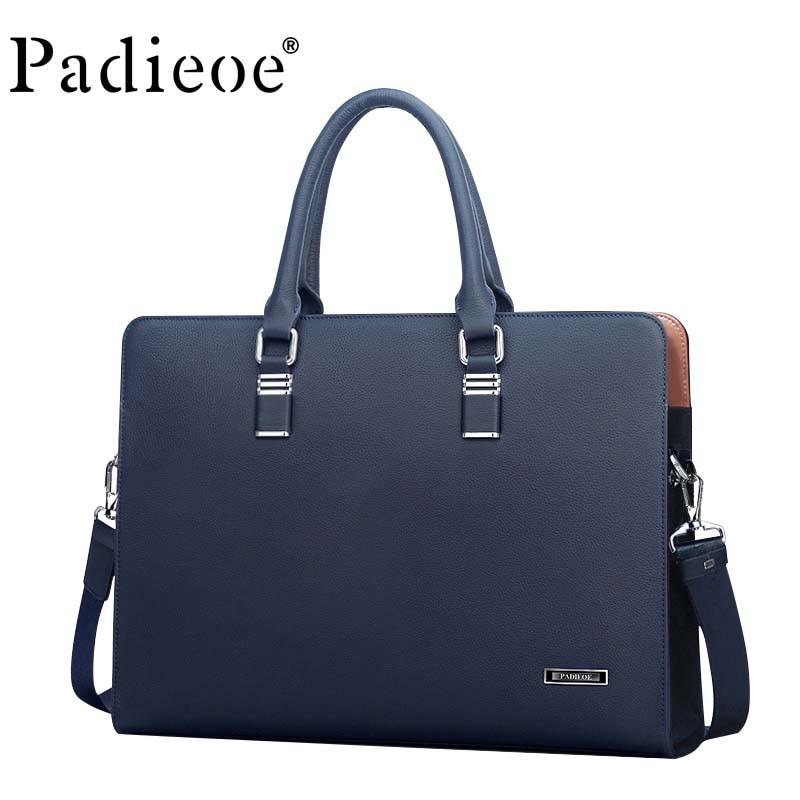 Men's Briefcase Bag Handbag Messenger-Bag Business Casual Luxury IPad Original