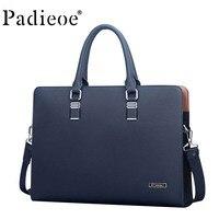 IPad bag luxury original leather cow leather messenger bag business men's briefcase handbag men's casual men's shoulder bag