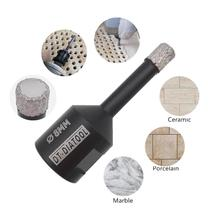 цена на DT-DIATOOL  2pcs 8mm Dry Vacuum Brazed diamond drill core bits M14 tile Hole saw Professional quality drilling bits wax inside
