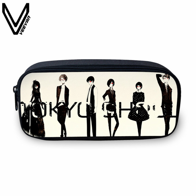 Tokyo Ghoul Casual Cartoon Pencil Box For Kids