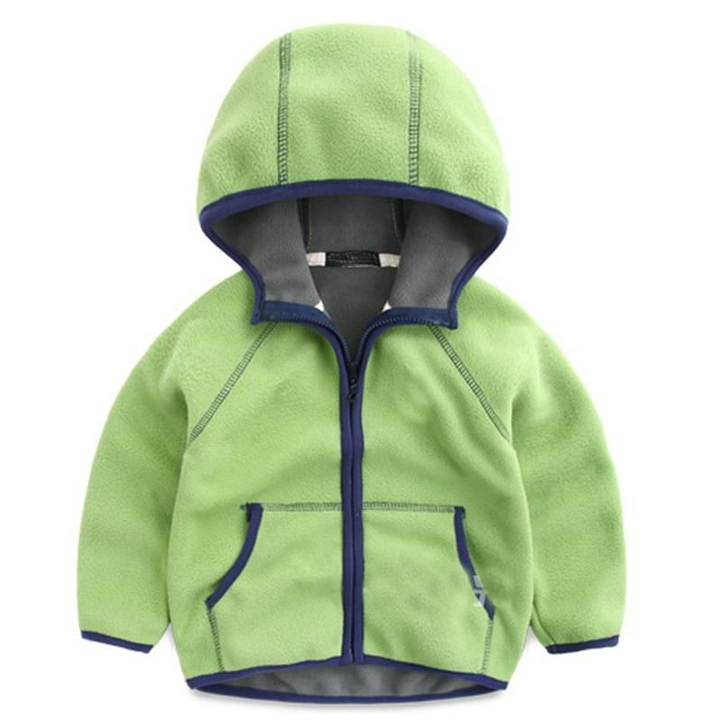 Baby Boys Girls Coral Velvet Sweatshirt New 2018 Children Polar Fleece Cardigan Sweatshirt Children Hoodies Kids Jacket & Coats baby long sleeve sweatshirt with a hood cardigan fleece sweatshirt romper velvet trousers set baby boy