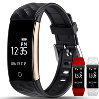 S2 Bluetooth Smart Band Wristband Heart Rate Monitor IP67 Waterproof Smartband Bracelet For Android IOS Phone PK mi band ID107