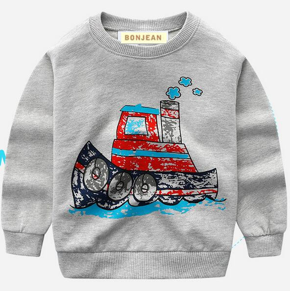 89a26a46b YGRa2228 2017 Fashion Baby Boy Top Solid Print Track Toddler Boy Pullover  Casual Boy T Shirt Children Clothes Kids Clothes