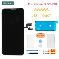 FENISING 3D touch OEM GX AMOLED LCD Display For iPhone XS XR X LCD Display Screen Digitizer Assembly Replacement X XS Phone LCDs