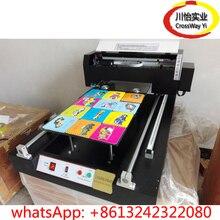 High quality Flatbed UV printer with rotary цена и фото