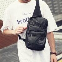 2017 New Men Messenger Bag Oxford Shoulder Bag Waterproof Chest Pack Oxford Casual Travel Chest Bag