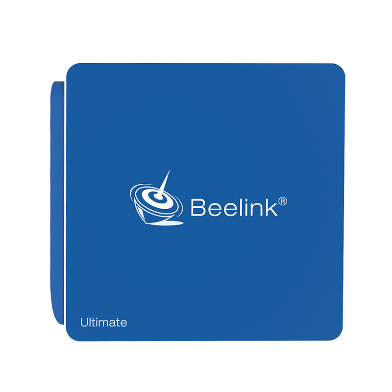 Beelink AP34 Blue Color TV Set Box N3450 Quad-core Support Win10 System Bluetooth 4.0 4G +64G Storage 2.4G+5.8G WIFI TV Box