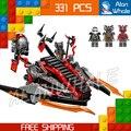 331 шт. Ниндзя Новый 10580 Vermillion Захватчика DIY Модель Строительные Блоки Детские Игрушки Кирпичи Совместимы с Lego