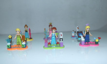 6pcs/Set Figures Building Blocks Sets china brand Snow and ice colors compatible with Lego