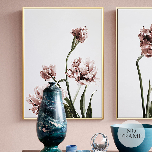 Flowers Poster Canvas Painting 3
