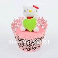 500pcs/lot Paper Cupcakes Wrappers