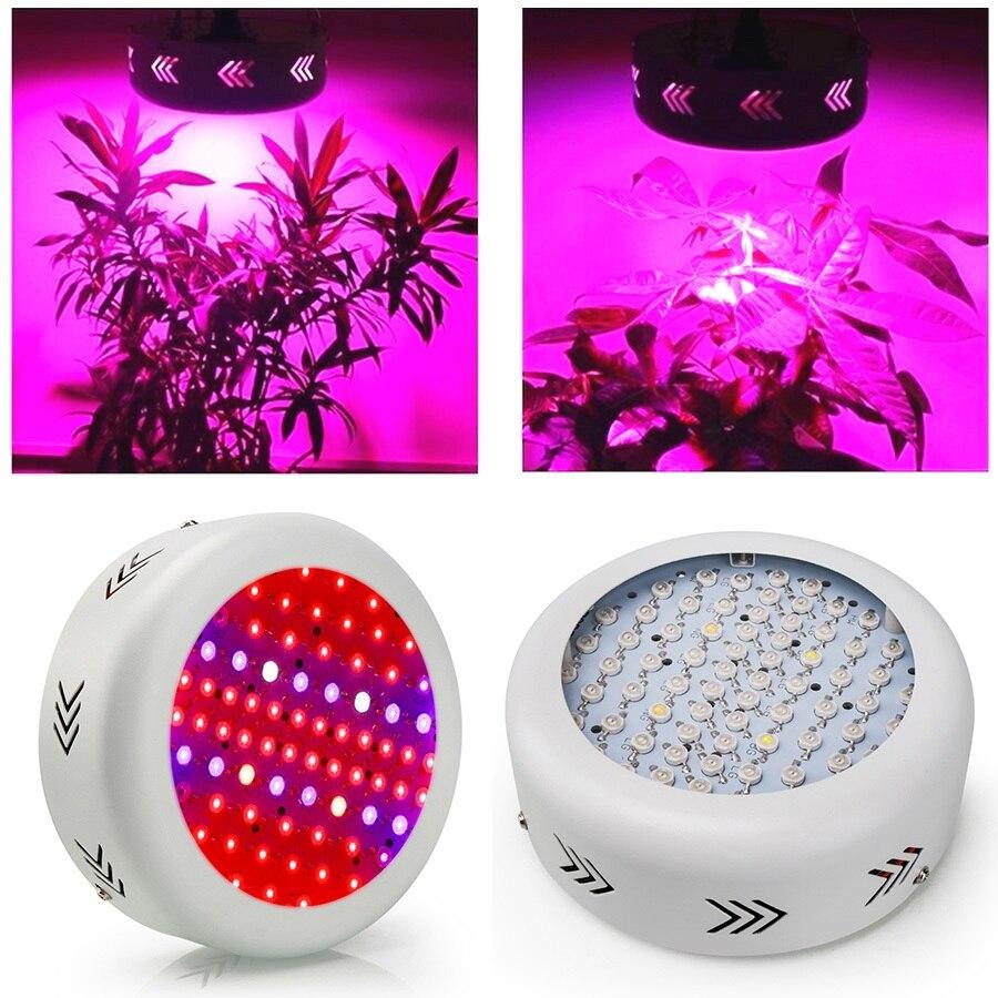UFO 216W Светодиодный светильник для выращивания 72X3W светодиодный s полный спектр коробка для выращивания 410 730nm для комнатных растений и цветов с очень высоким выходом