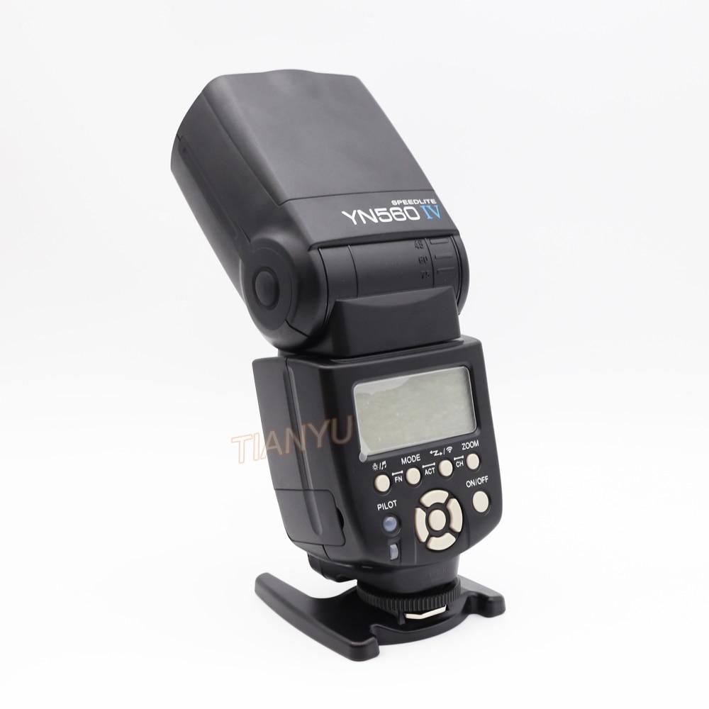 YONGNUO YN560 IV 2.4G Wireless Flash Speedlite with Radio Master Mode for Canon 6D 7D 60D 70D 5D2 5D3 700D 650D,YN-560 IV 560IV original yongnuo yn560 iv yn 560 iv master radio flash speedlite rf 605 wireless trigger for canon 1000d 650d 600d 550d dslr